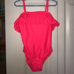 Super Cute Hot Pink, Old Navy Girls Bathing Suit.